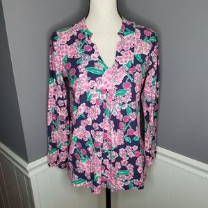 Lilly Pulitzer | Cherry Picker Blossom Blouse